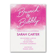 Brunch and Bubbly - Invitation